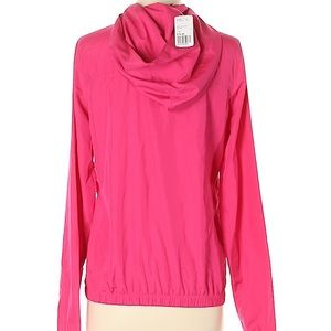 Bright pink windbreaker small new with tags